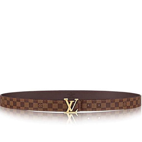 9e87e7e2a316 Louis Vuitton Accessories - Louis Vuitton Initiales 25MM women s belt
